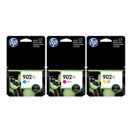 HP 902XL C/M/Y cartouche d'encre original combo (haute capacité)