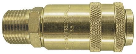 PCL Pneumatic Quick Connect Coupling Steel 3/8 in Threaded