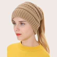 Plain Knitted Hat