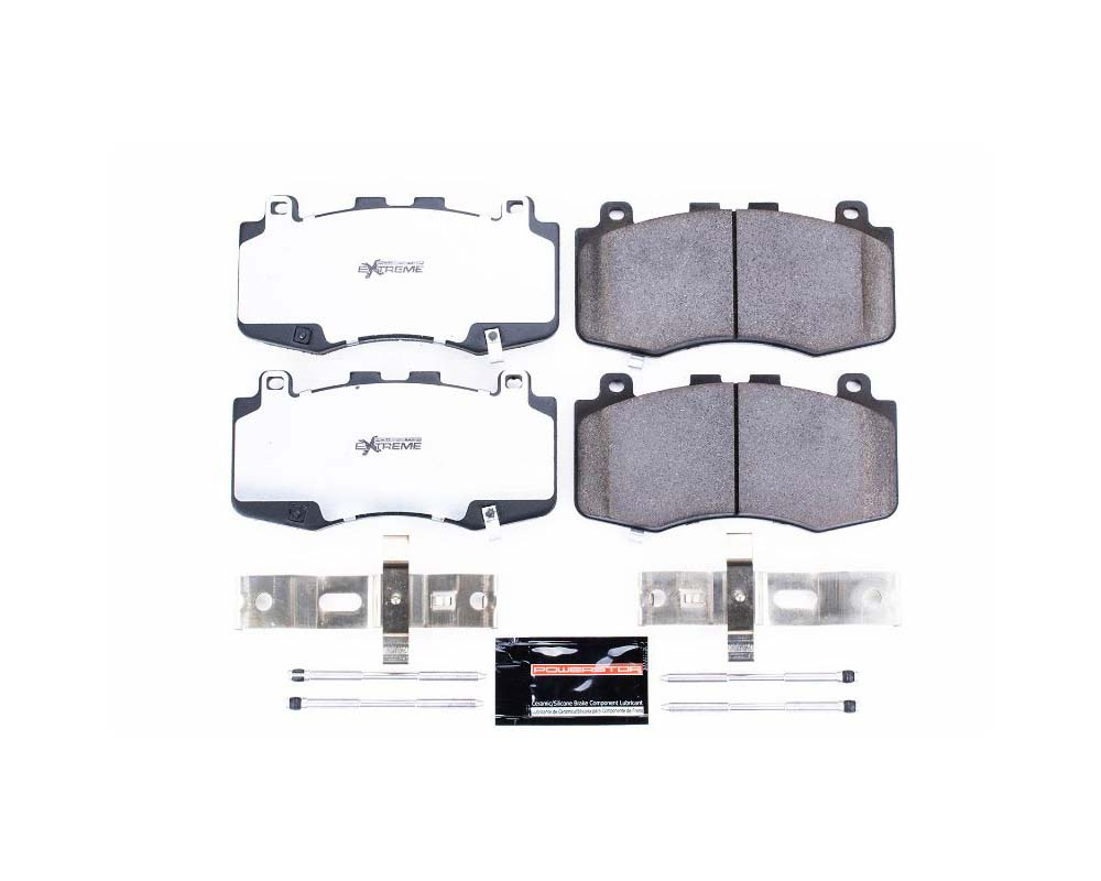 Power Stop Z36-6006 Z36 Truck & Tow Brake Pads w/Hardware Front Jeep Grand Cherokee 2018-2019