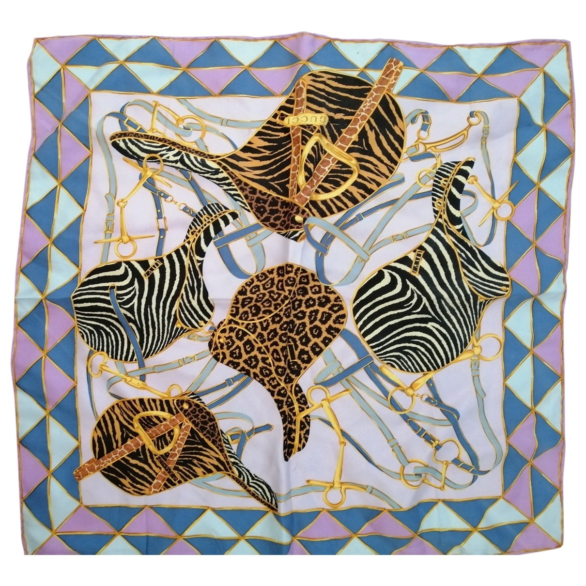 Gucci \N Purple Silk scarf for Women \N