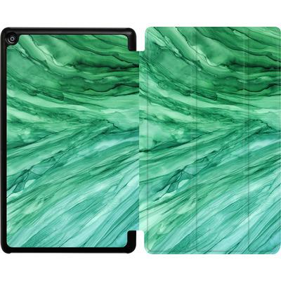 Amazon Fire HD 8 (2018) Tablet Smart Case - Emerald von Becky Starsmore