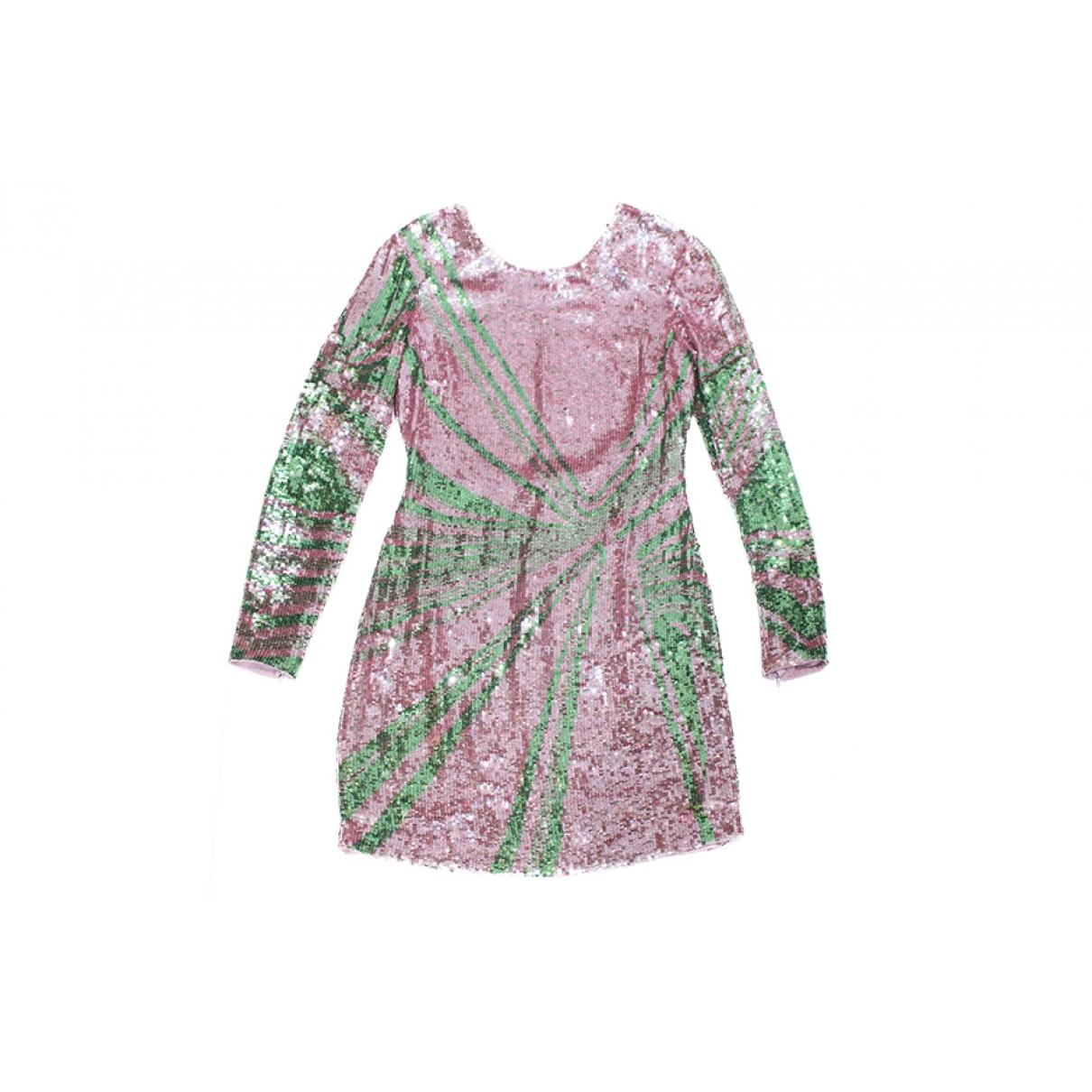 Versace \N Kleid in  Bunt Mit Pailletten