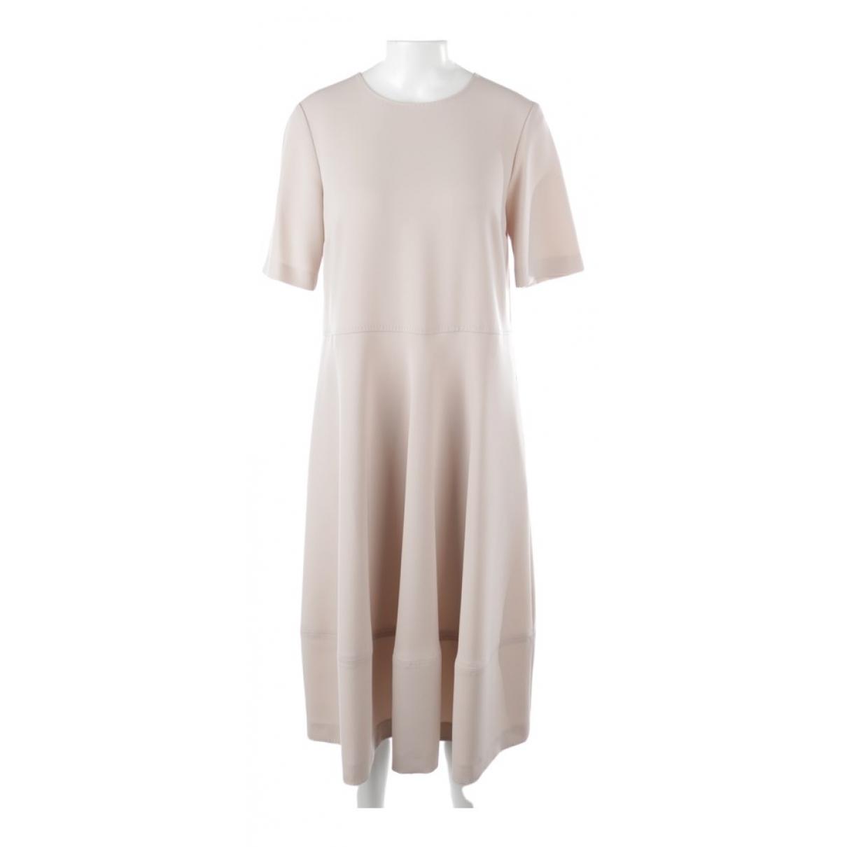 Max Mara \N Beige Cotton dress for Women 38 FR