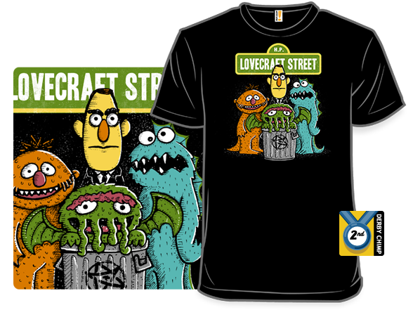 Lovecraft Street T Shirt