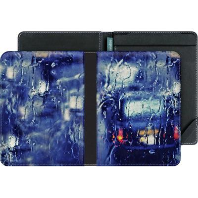 tolino vision 3 HD eBook Reader Huelle - London Taxi In The Rain von Ronya Galka