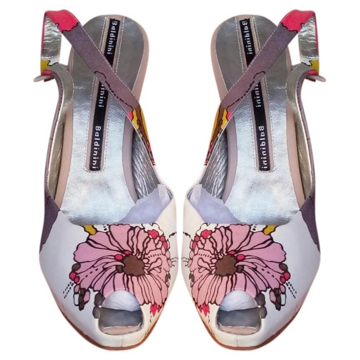 Baldinini \N Multicolour Leather Sandals for Women 40 EU