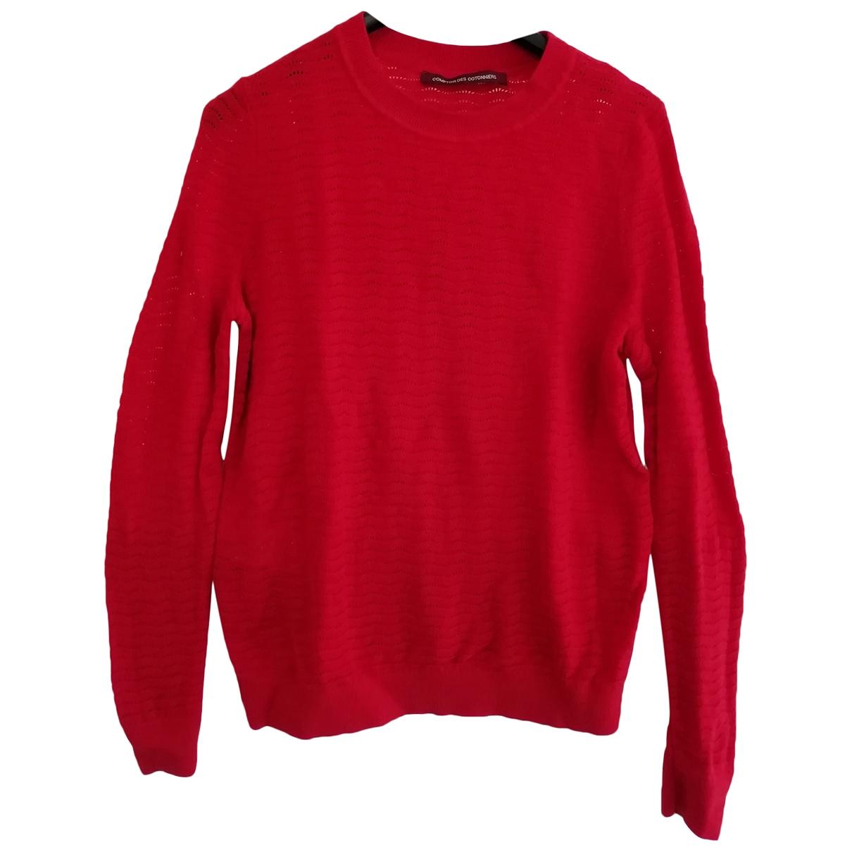 Comptoir Des Cotonniers - Pull   pour femme en laine - rouge