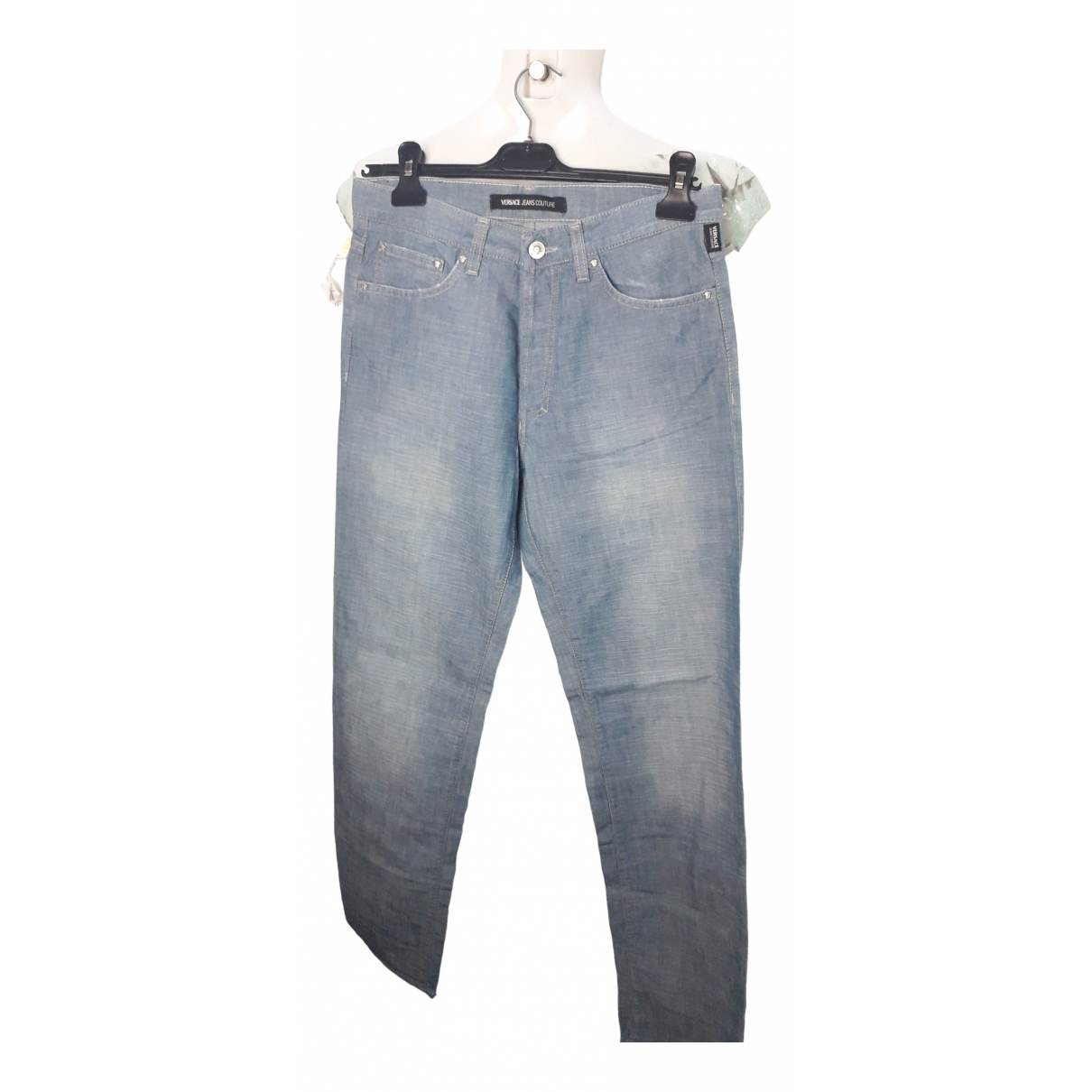 Versace Jeans \N Cotton Trousers for Men 32 UK - US