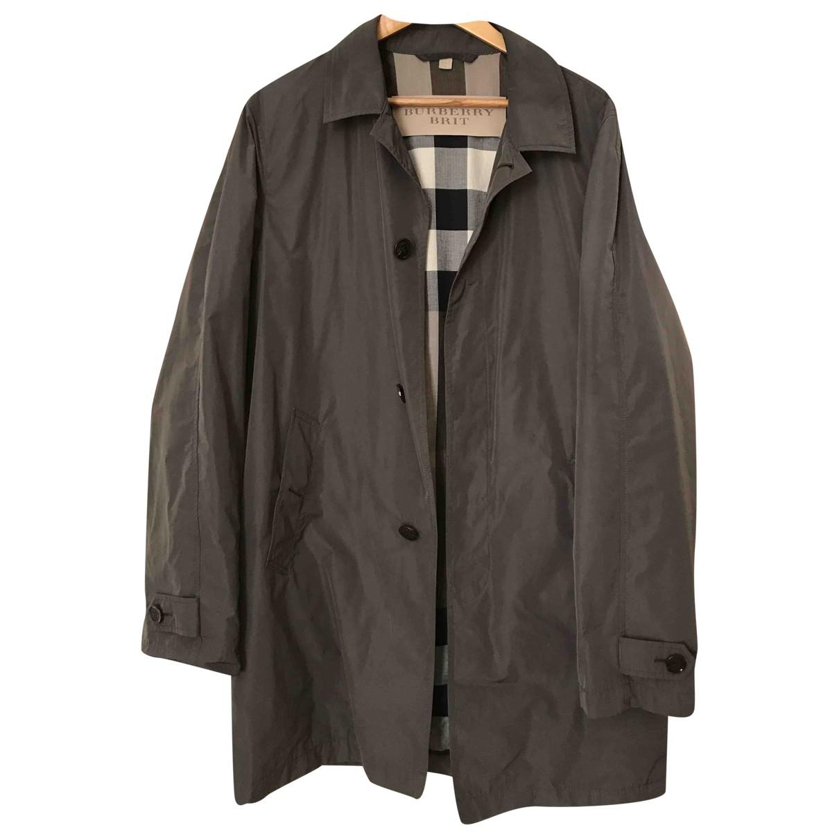 Burberry \N Grey Cotton coat  for Men L International