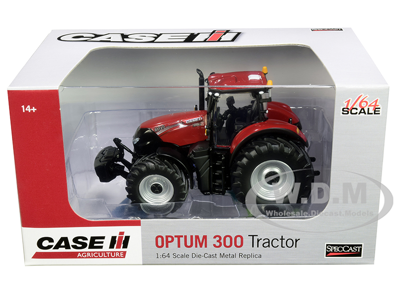 Case IH Optum 300 Tractor Red 1/64 Diecast Model by SpecCast