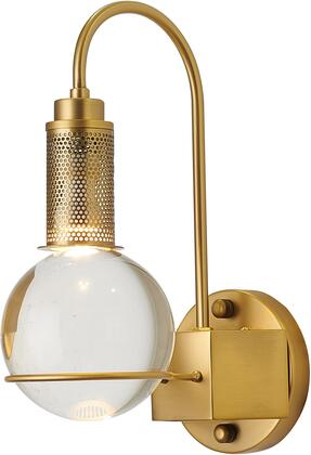 MU90W12BR Wall Sconce with Metal & Crystal in Antique