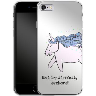 Apple iPhone 6 Silikon Handyhuelle - Eat my stardust von caseable Designs