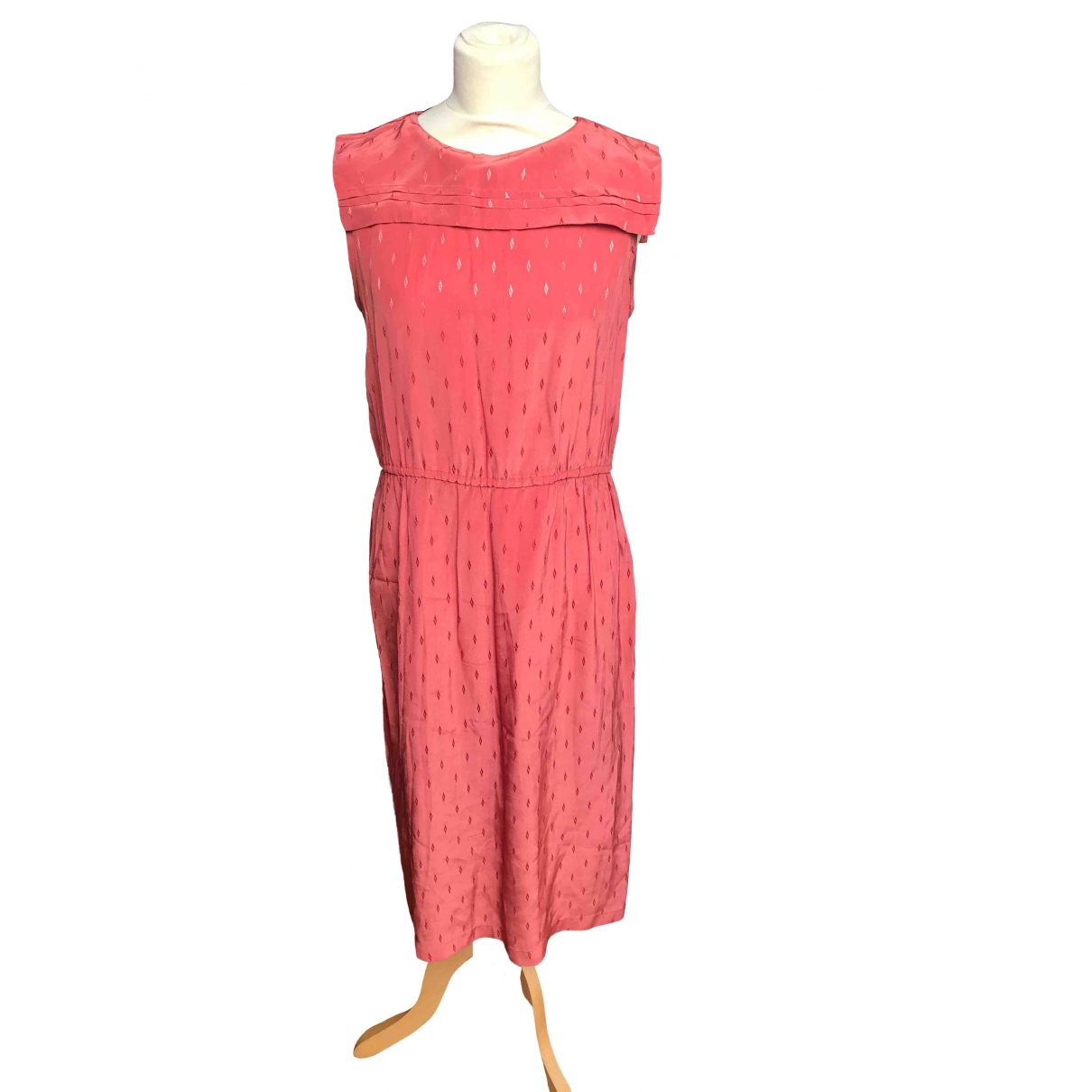 Non Signé / Unsigned \N Silk dress for Women 36 FR