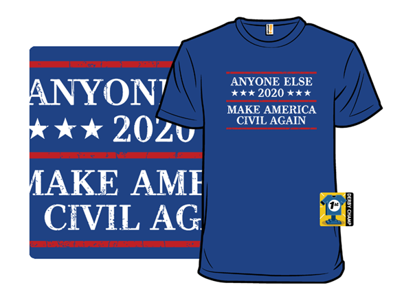 Make America Civil Again T Shirt