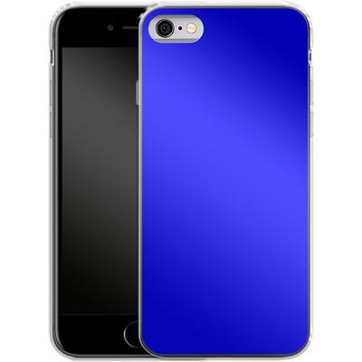 Apple iPhone 6s Silikon Handyhuelle - Test Blue von caseable Designs