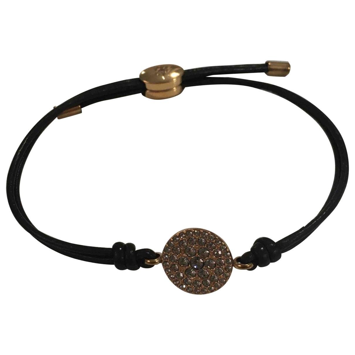 Fossil - Bracelet   pour femme en ceramique - dore