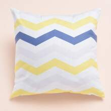 Chevron Pattern Cushion Cover Without Filler