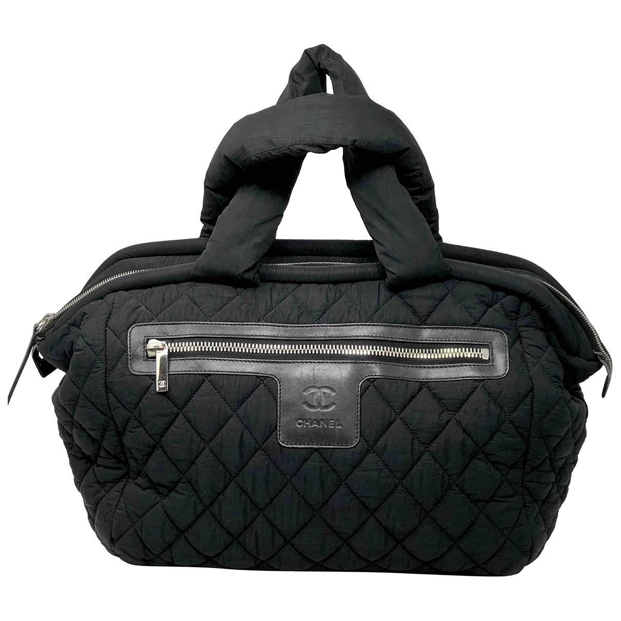 Chanel Coco Cocoon Black Cloth handbag for Women \N