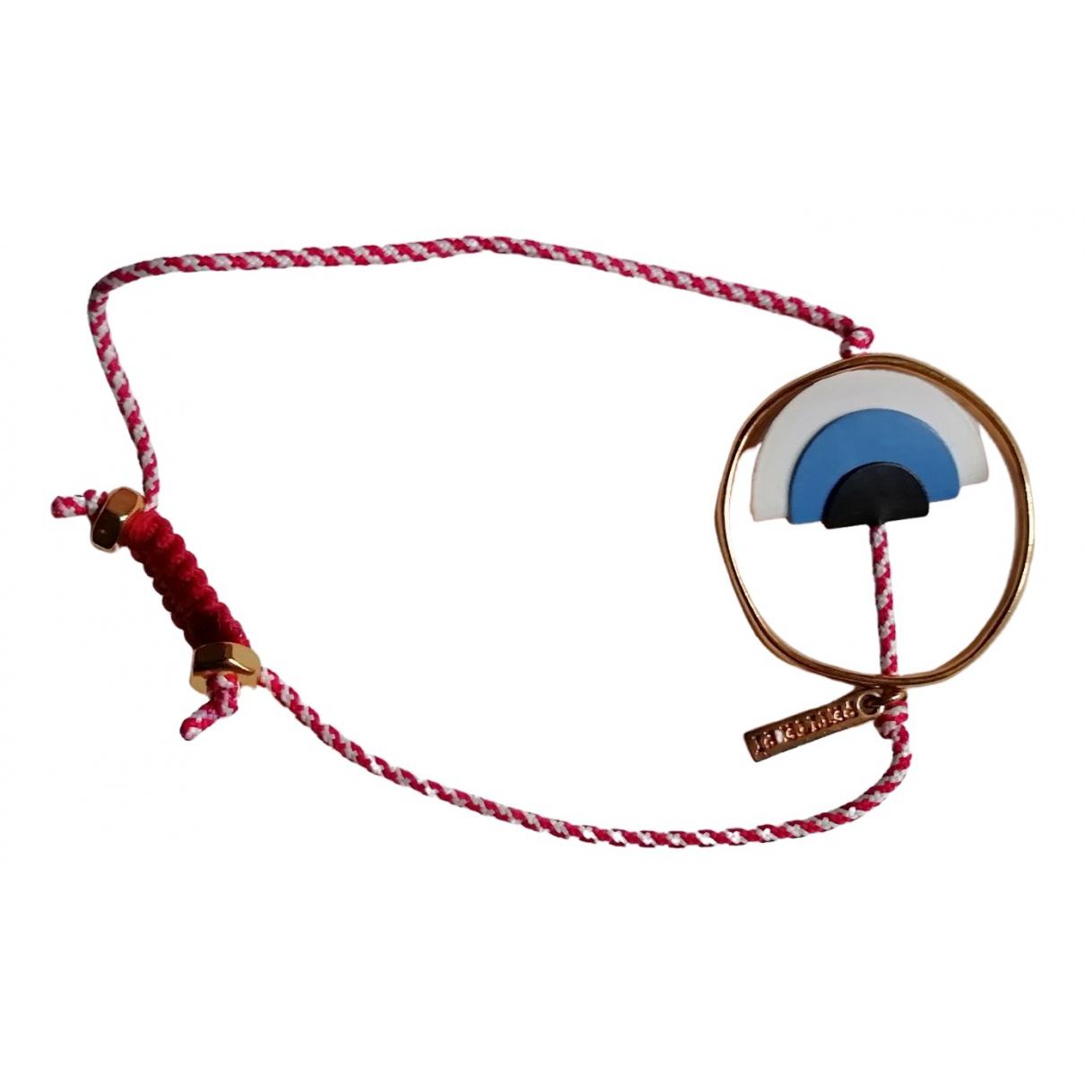 - Bracelet   pour femme en metal - rouge