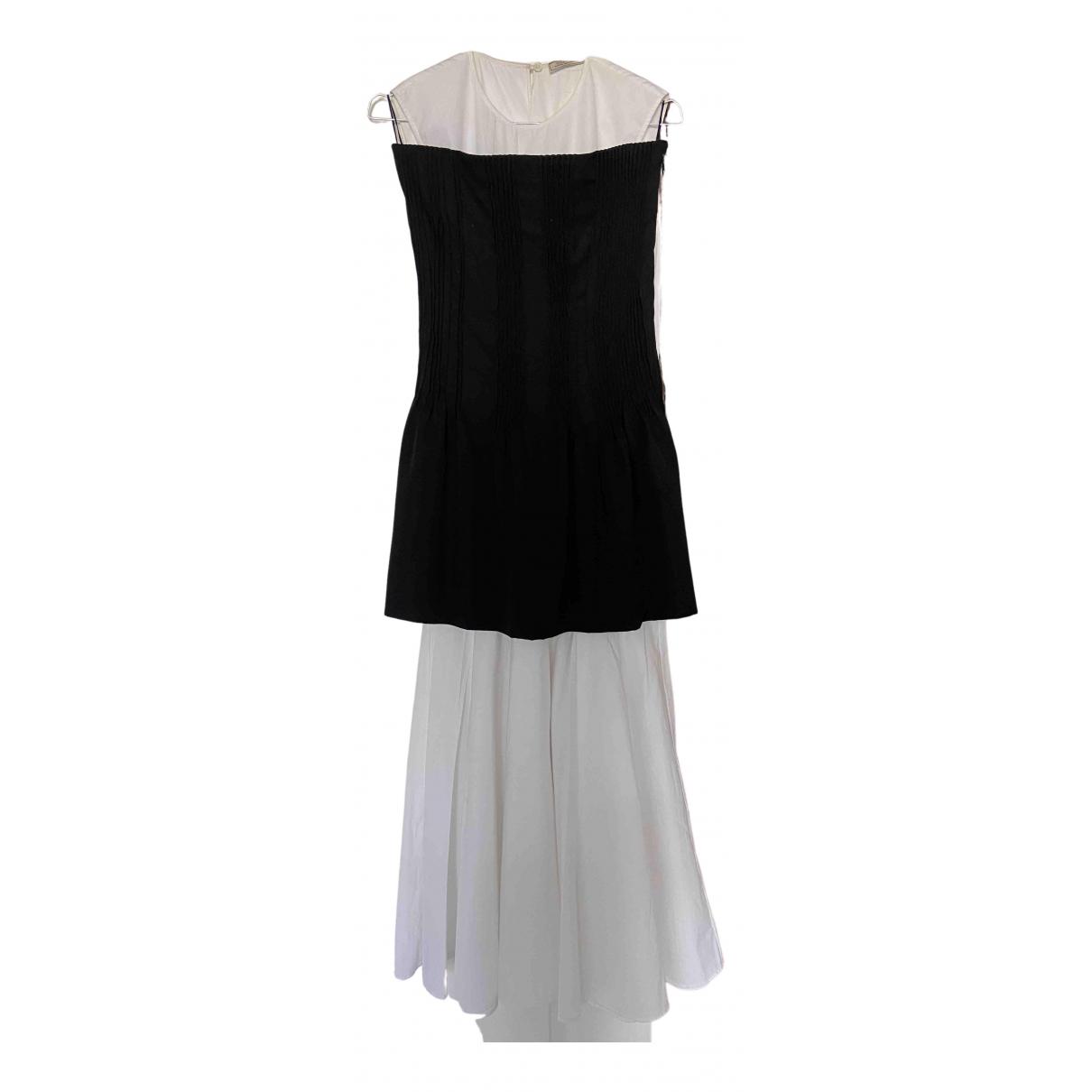 Nina Ricci \N Kleid in  Weiss Baumwolle