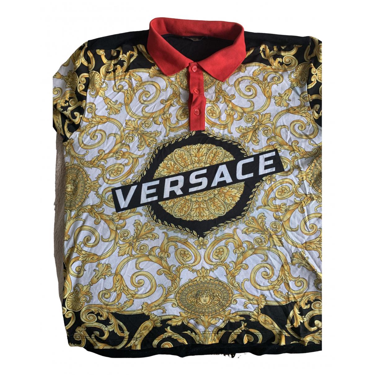 Versace - Polos   pour homme en coton - multicolore