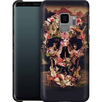 Samsung Galaxy S9 Smartphone Huelle - Jungle Skull von Ali Gulec