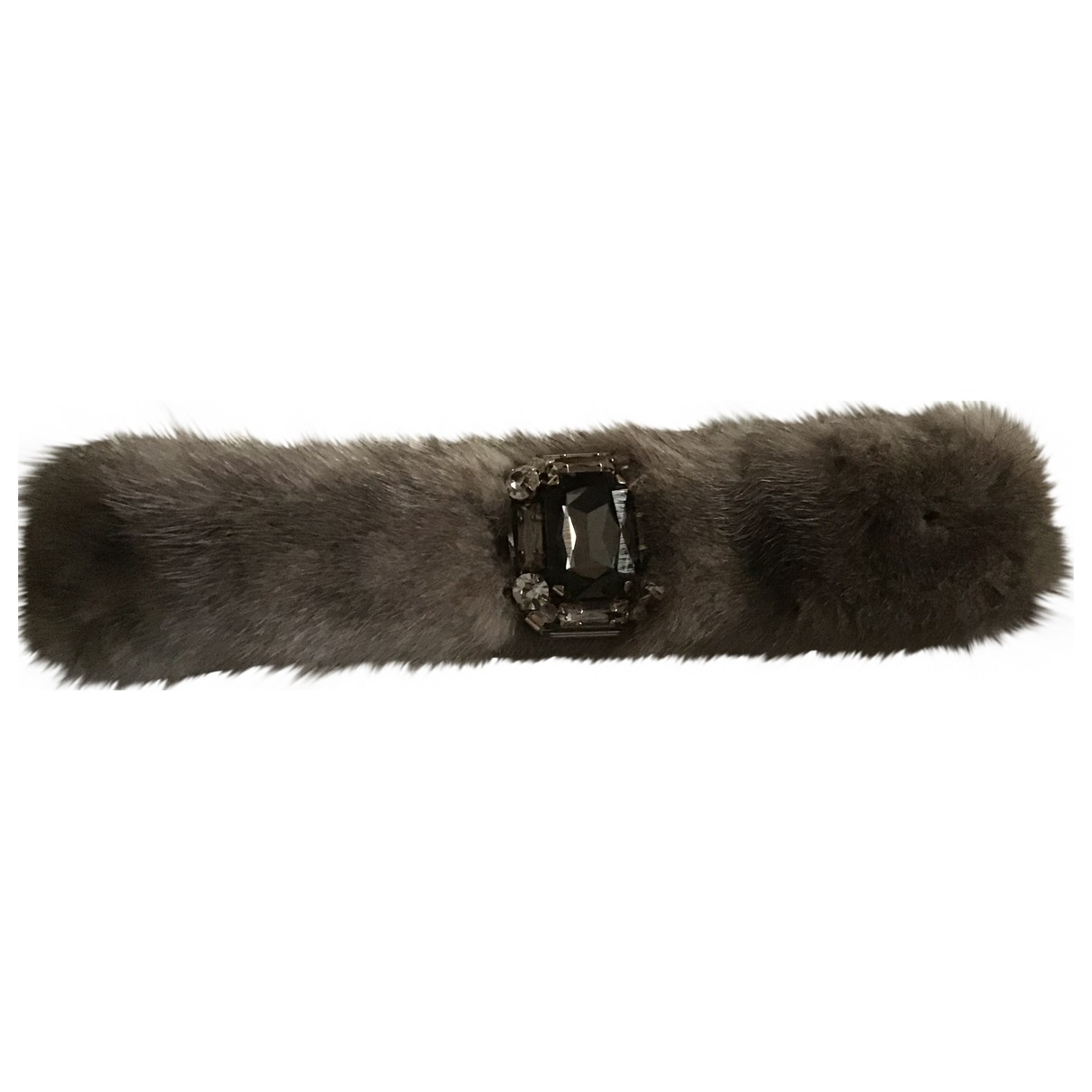 Max Mara Weekend \N Grey Mink bracelet for Women \N