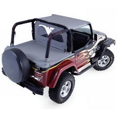 Rampage Cab Top (Black Denim) - 992015