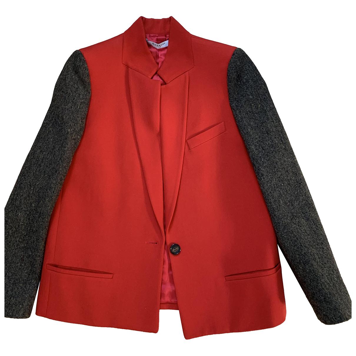 Givenchy - Veste   pour femme en laine - multicolore
