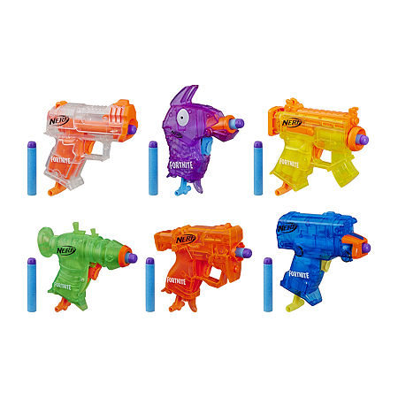 Nerf Fortnite Micro Bach 6 Pack, One Size , No Color Family