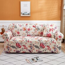Funda de sofa con estampado de flor sin cojin