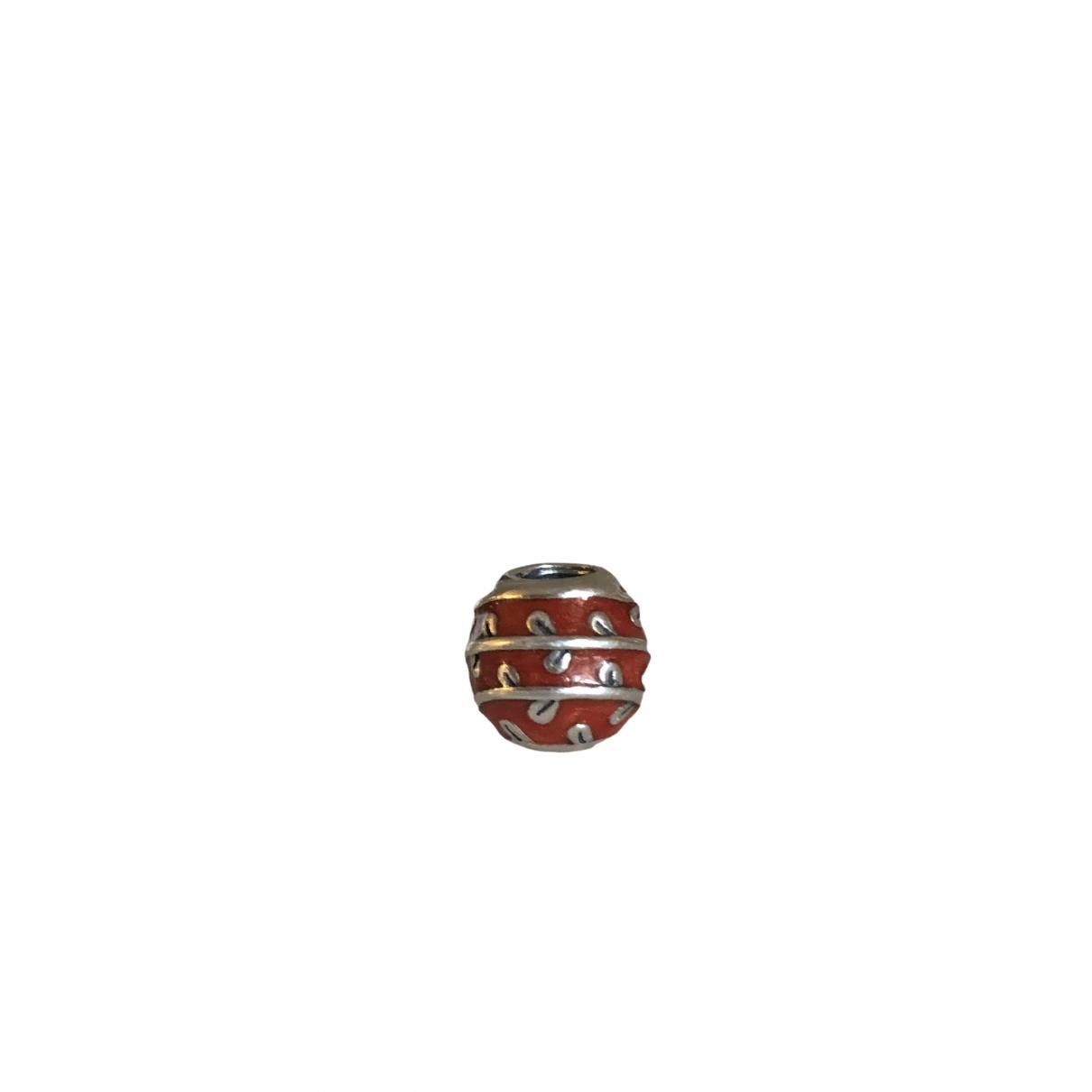 Pandora \N Armband in  Rot Silber
