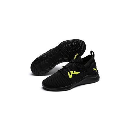Puma Emergence Mens Running Shoes, 13 Medium, Black