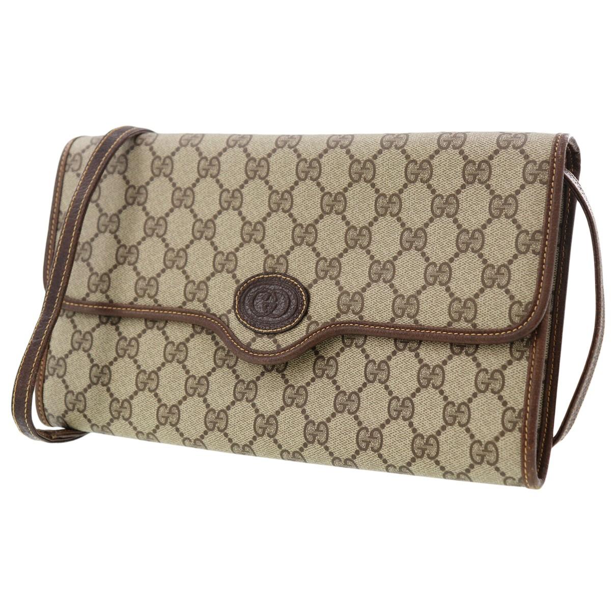 Gucci \N Beige Cloth handbag for Women \N