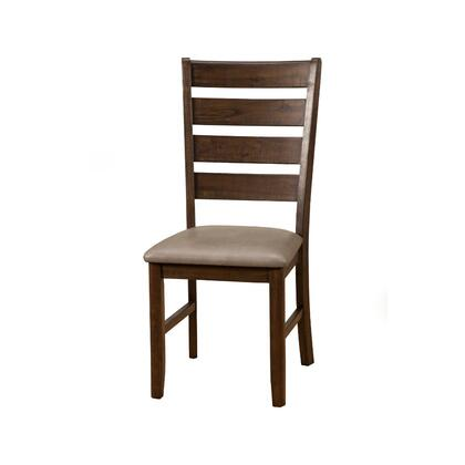BM171955 Wooden Side Chairs With Laddder Back Design Set Of 2