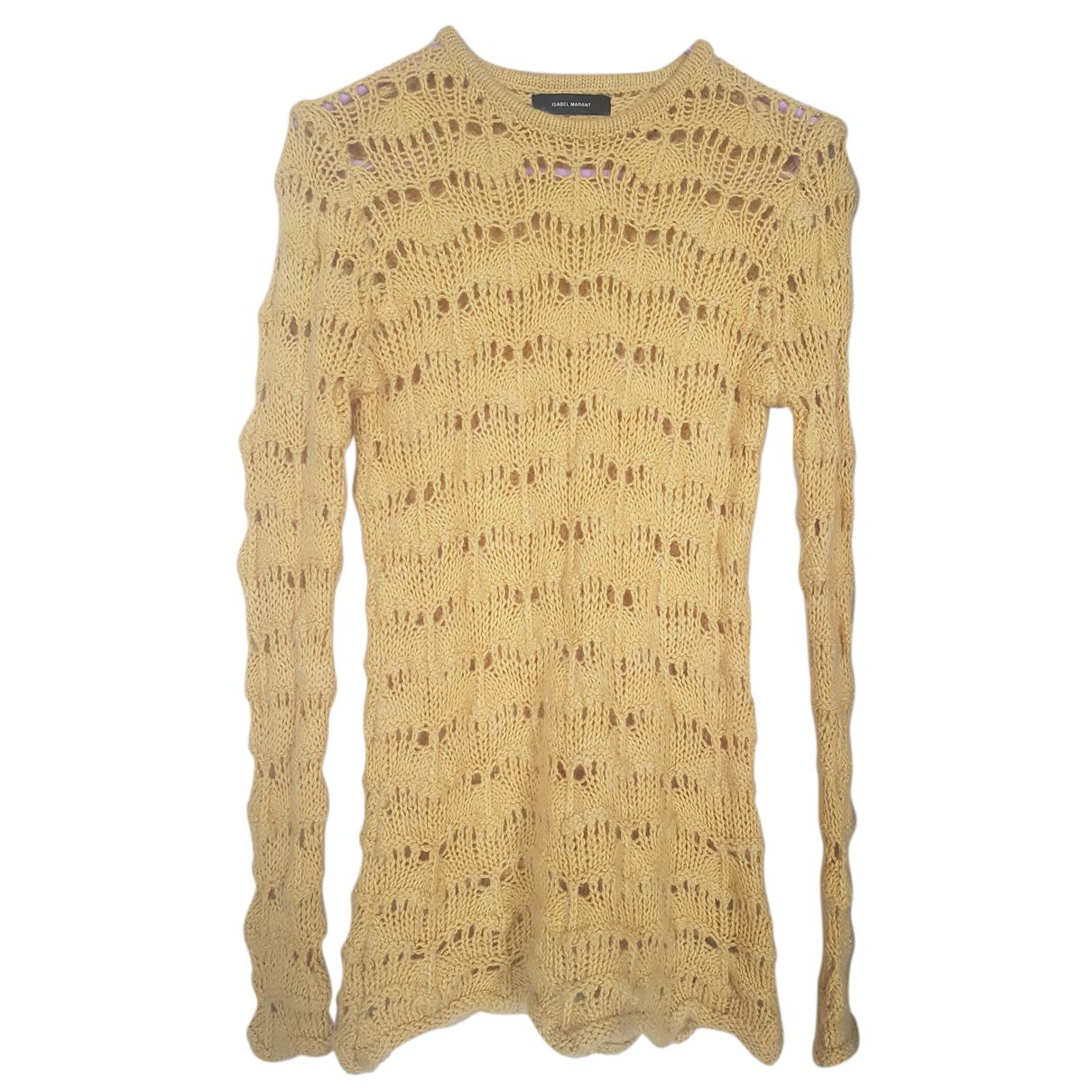 Isabel Marant N Yellow Wool Knitwear for Women 36 FR