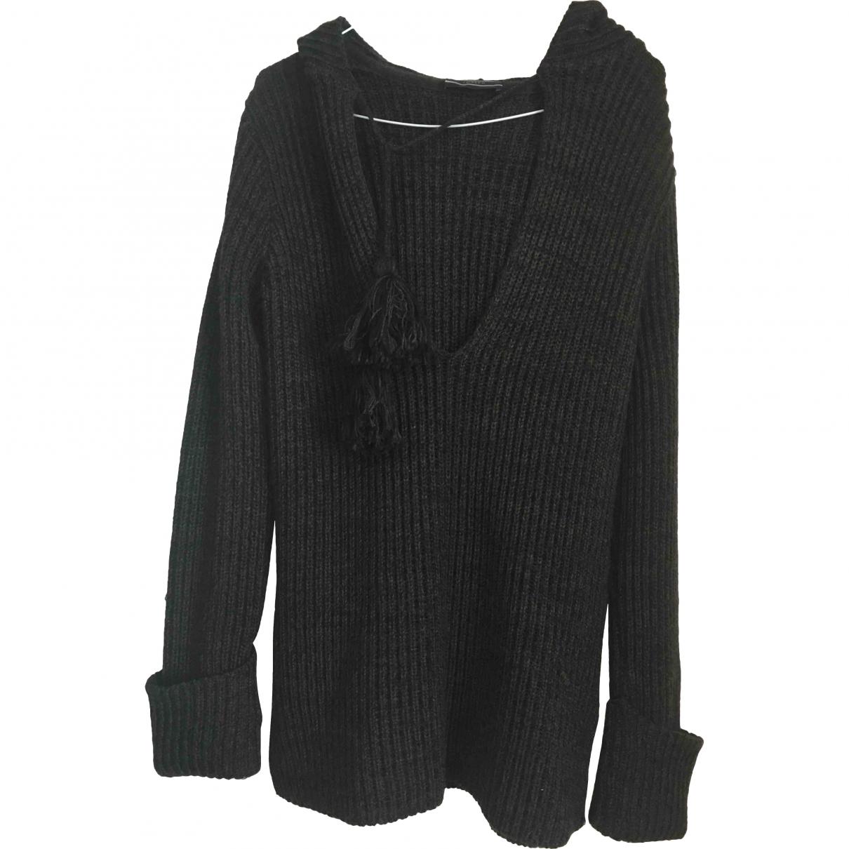 Joseph - Pull   pour femme en laine - marron