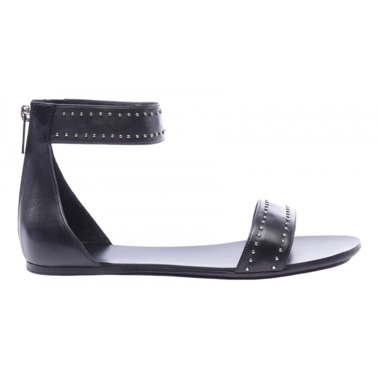 Anine Bing \N Black Leather Sandals for Women 37 EU