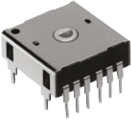 Alps Alpine 8 (Positions) Pulse Absolute Mechanical Rotary Encoder with a 5 mm Hollow Shaft (Not Indexed), Through Hole