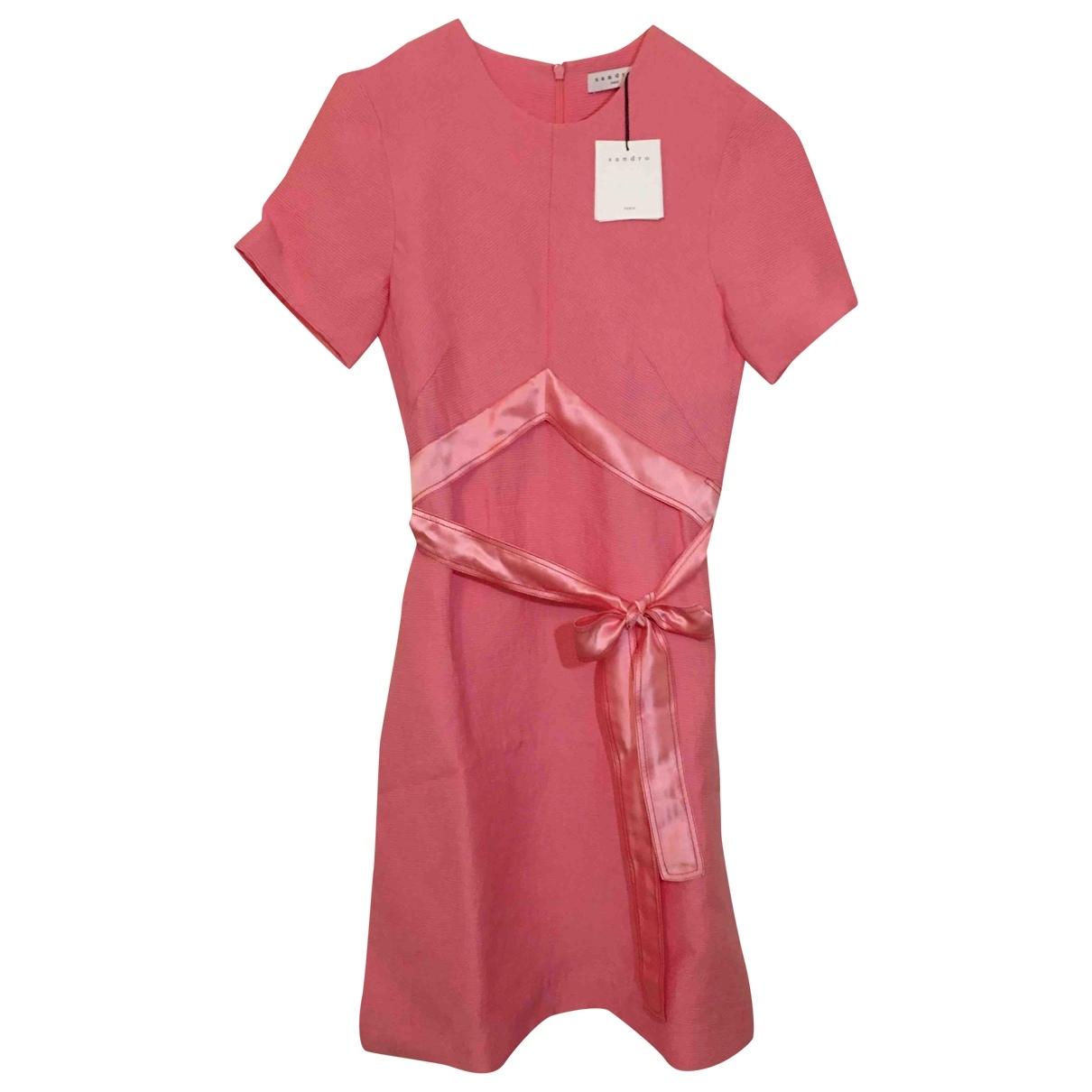 Sandro - Robe   pour femme - rose