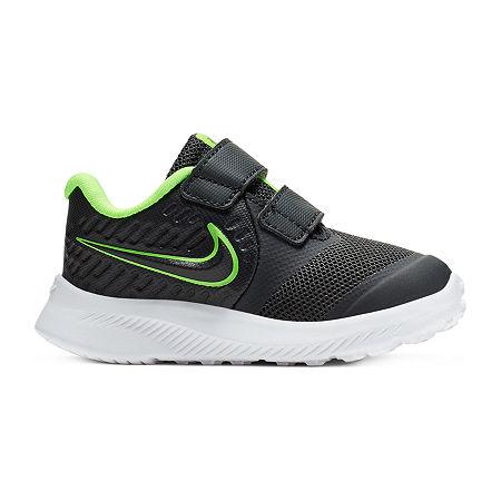 Nike Star Runner 2 Toddler Boys Sneakers, 6 Medium, Black