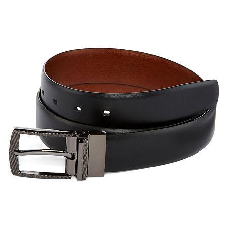 JF J. Ferrar Shanghai Reversible Belt, 30 , Black
