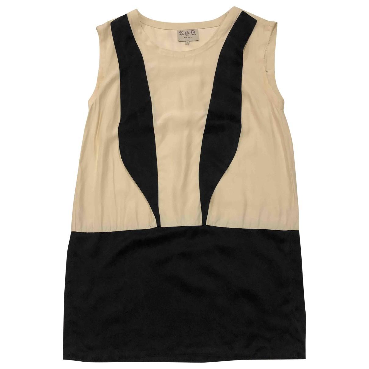 Mini vestido de Seda Sea New York