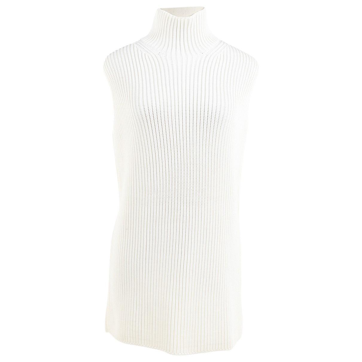 Hermes - Pull   pour femme - blanc