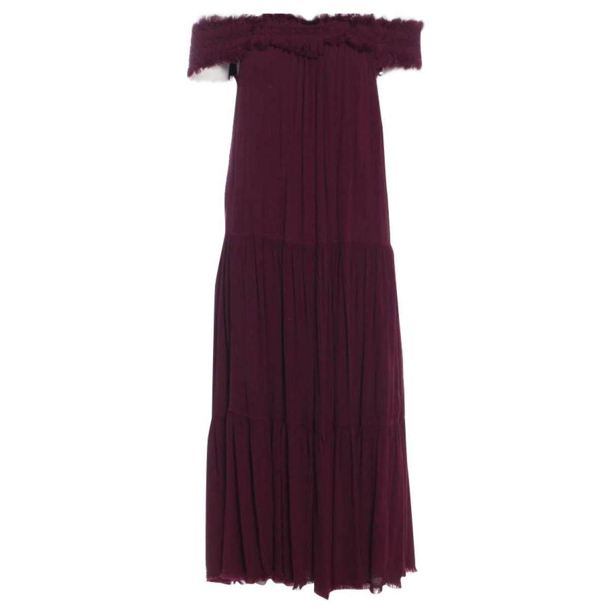 Maxi vestido de Seda Raquel Allegra