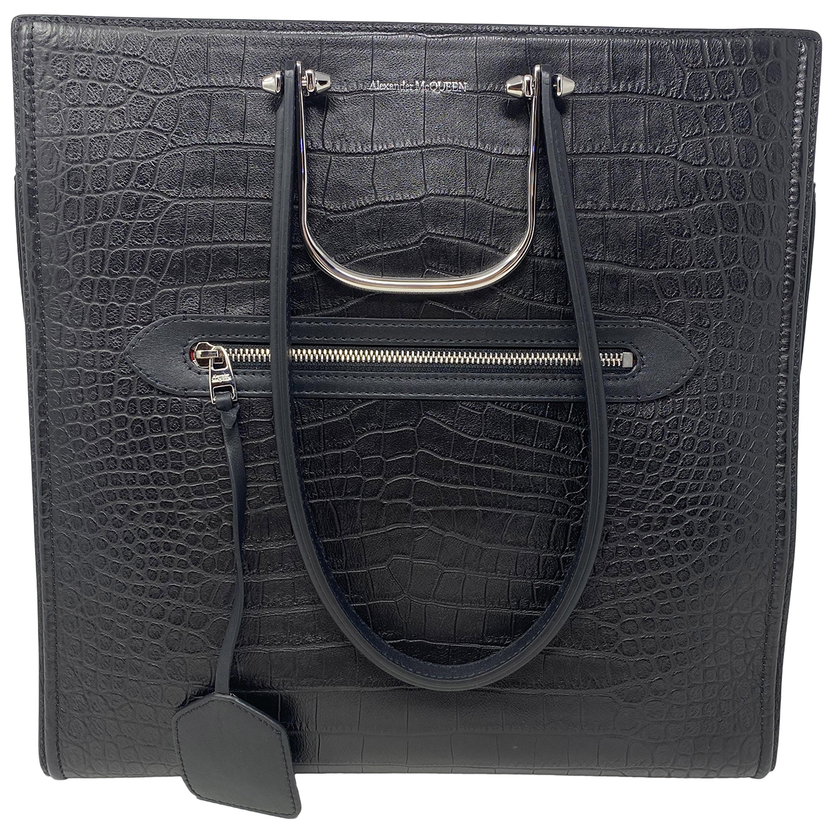 Alexander Mcqueen N Black Leather handbag for Women N