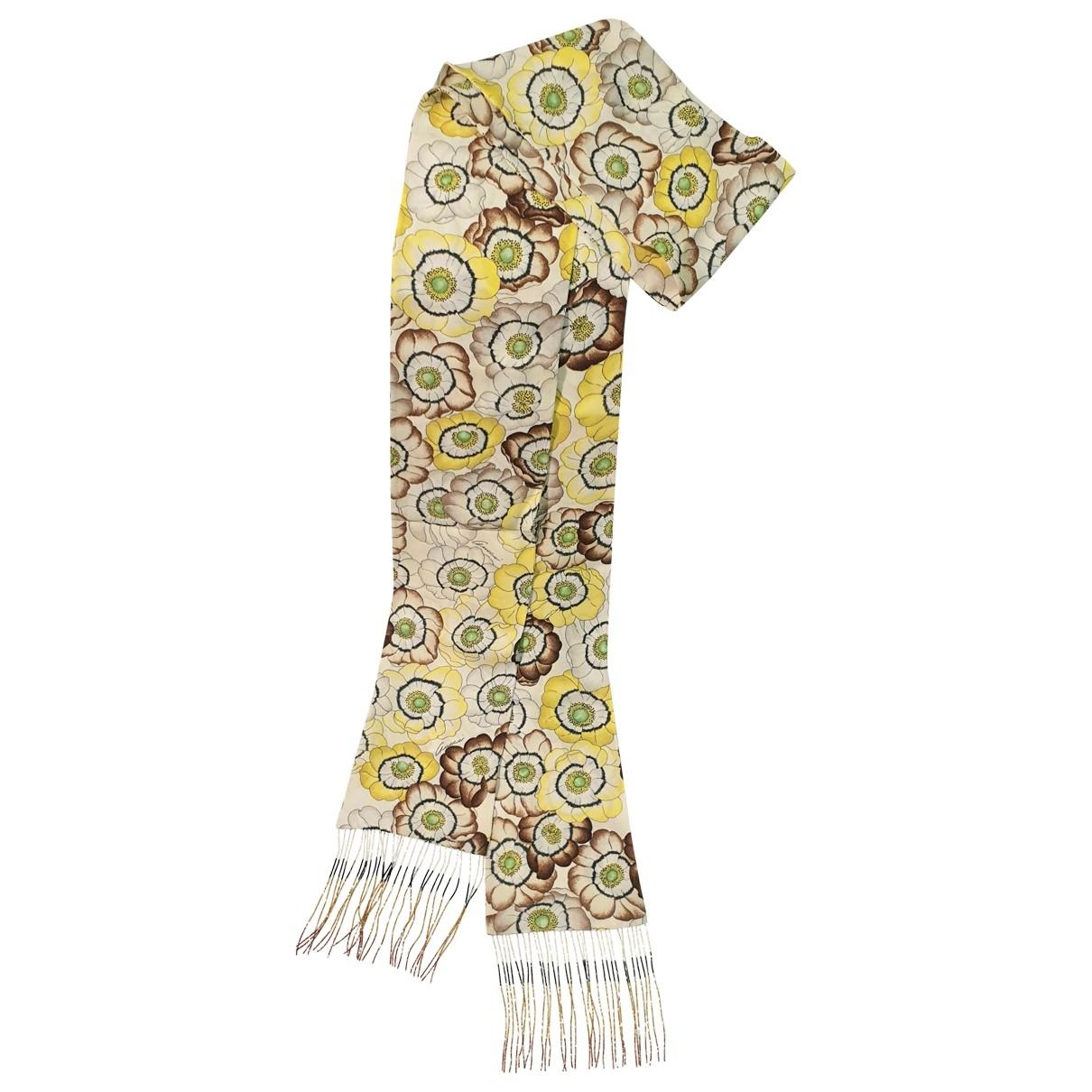 Gucci \N Yellow Silk scarf for Women \N