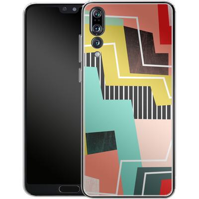 Huawei P20 Pro Silikon Handyhuelle - Color Block I von Susana Paz