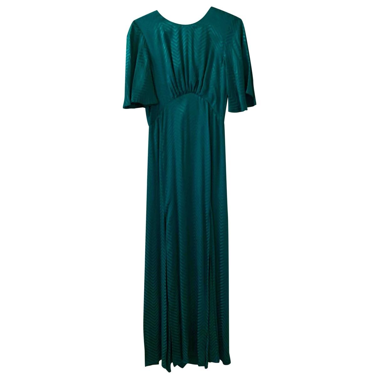 Tophop \N Kleid in  Gruen Synthetik